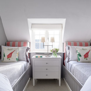 Country bedroom in Gloucestershire.