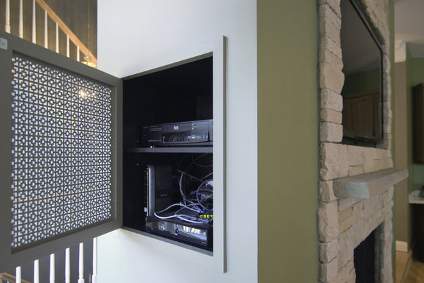 How to Hide TV Cords | Houzz
