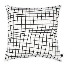 Folded Grid Scatter Cushion Cover, 50x50 cm