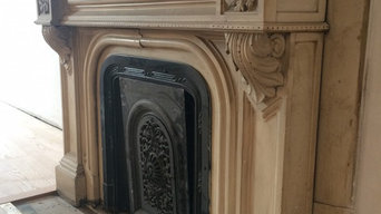 Vintage Marble Fireplace Restoration Mass Ave Boston