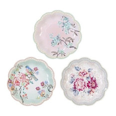 """Talking Tables Truly Romantic Small Plates, 7"""", 12-Pack"""