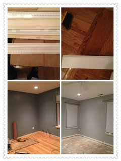 However Should I Change The Crown Molding With Less Detail To Match Baseboard Then This Is One Of My Bedroom S Picture