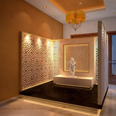 Pooja Stand Designs Images : Serene puja room designs
