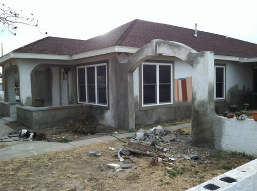 Help Exterior Terracotta And Trim Paint Color Ideas To Bring This Old Adobe Stucco Home Back To Life