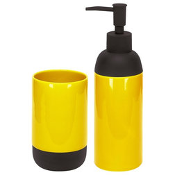 Popular Contemporary Soap u Lotion Dispensers Modern Bath Accessories Set of Liquid Soap Dispenser and