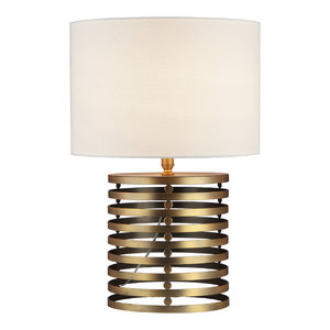 Janet Table Lamp, Brass