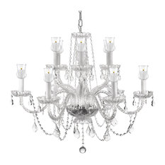 Crystal Chandelier Chandeliers With Candle Votives