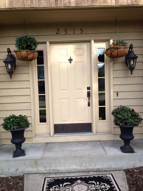 High Quality I Like The Solid Wood Grain Fiberglass Doors, But Which One...two Panel  European, Three Panel, Rustic? Would 3/4 Glass Work Or Compete With My  Windows?