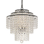 Elight Design - Crystal 3 Light Chandelier in Bronze - This 3 light Chandelier from the Crystal collection by elight DESIGN will enhance your home with a perfect mix of form and function. The features include a Bronze finish applied by experts.