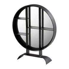 Cyan Design Small Nexus Mirror 27 x 22 Nexus Circular Iron Frame Mirror Made in