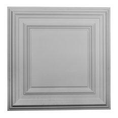 "23 3/4""W x 23 3/4""H x 1 5/8""P Classic Square Ceiling Tile"