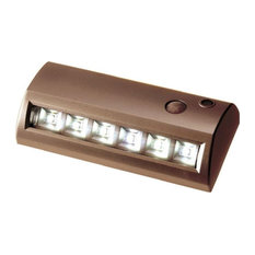 Fulcrum 20032-307 6-LED Motion Activated Path Light, Bronze