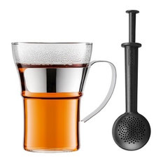 - TEA FOR YOU | Taza con colador de té, 0,3 l. Brillo | Bodum Tienda online | Espa - Tazas de té