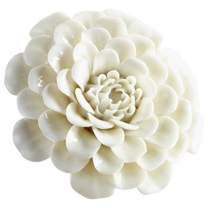 Large Ceramic Wall Decor Flower Contemporary