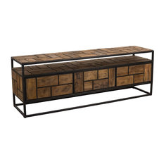 Upcycled TV and Media Unit