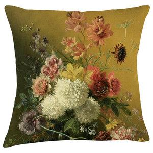 Velvet Tableau Cushion, Garland