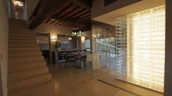Acrylic Wine Cellar for Hotel Castello di Casole