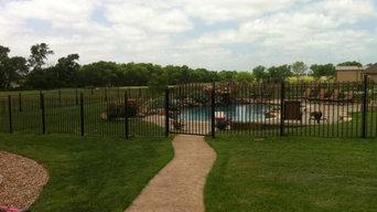 Ornamental Iron Pool Fence