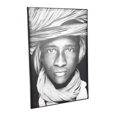 """""""African Young Man"""" Canvas Print, 80x120 cm"""