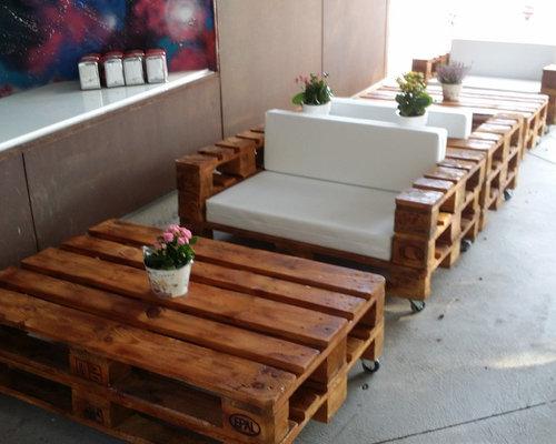 Mesas Con Palets Reciclados. Finest Esta Es Una De Las Cosas Que Ms ...