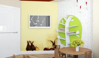 """Дизайн-проект двухкомнатной квартиры для журнала """"Идеи вашего дома""""(апрель 2015)"""
