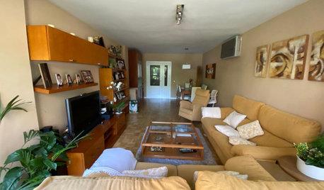 ¡Vaya cambio! 6.000 €… y salón nuevo para un piso en Madrid