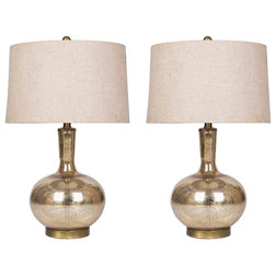 Transitional Lamp Sets by Abbyson Living