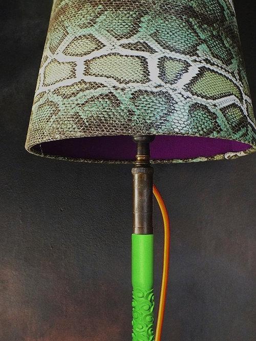 snakeskin lampshade collection green lamp shades