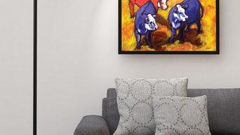 Cows on Crush by Nancy Ruhl
