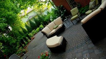 Suburban Courtyard