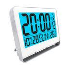 Atomic LCD Alarm Clock