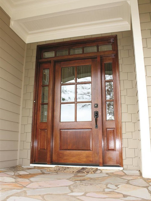 Residential front entry doors with glass panels for Residential front doors