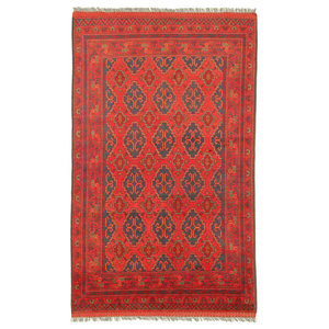 Khal Mohammadi Oriental Rug, Hand-Knotted, 200x140 cm