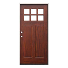 creative entryways exterior pre hung pre finished mahogany prime jamb right hand
