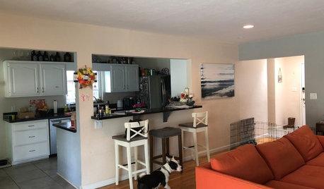 Antes y después: Cambio radical en una casa de campo en San Diego