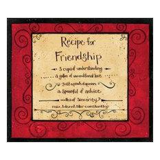 Friendship Recipe by Dan DiPaolo Canvas Print