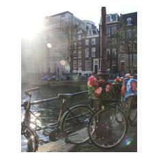 """Amsterdam Bikes Photo Print, 8""""x10"""""""
