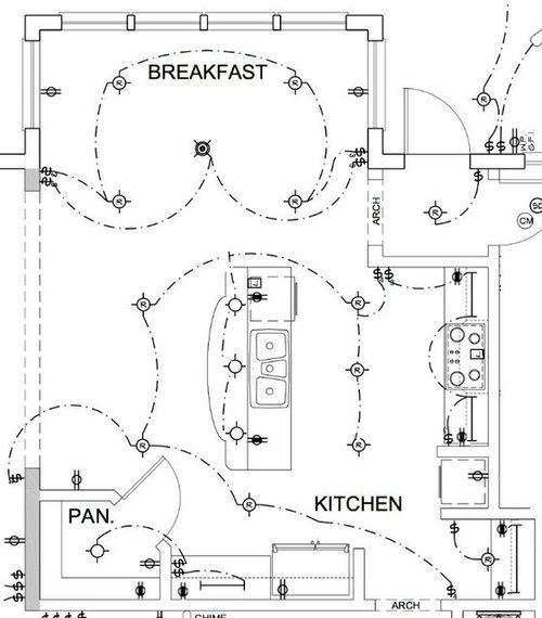 electrical plan architecture manual e books Architectural Floor Plans kitchen electrical plan needs suggestionsi am considering removing the recessed lights from the breakfast area,