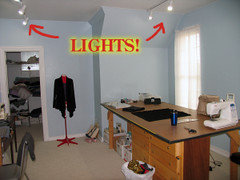 I Am Looking For A Ceiling Light My Sewing Room Den