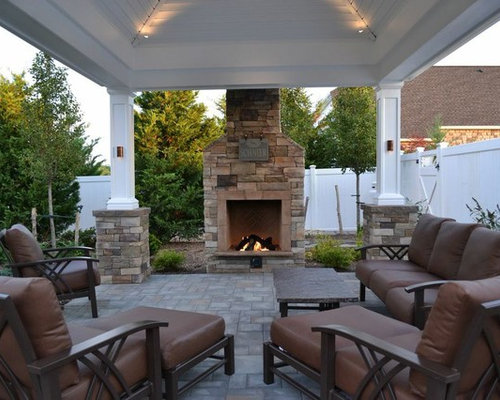 Whether They Re Pre Manufactured Or Custom Outdoor Fireplaces Rock