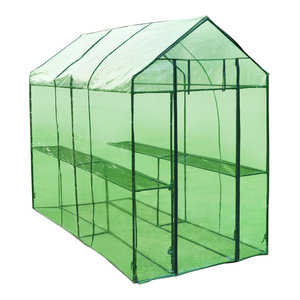 Patio Greenhouse Powder Coated Steel Frame Tear Resistant ...