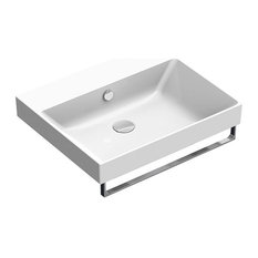 New Zero 60 cm Basin, White Gloss