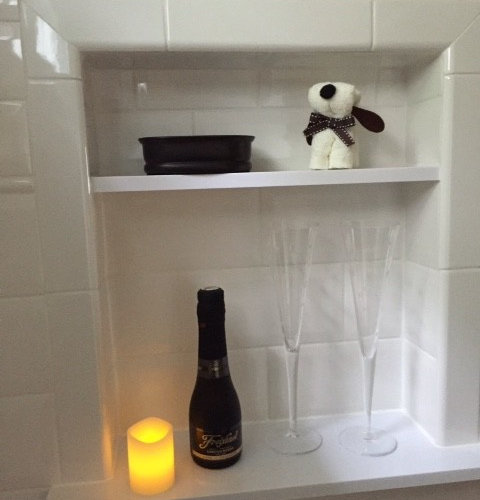 Cozy Bathroom Remodel in Hackettstown - Soap Dishes & Holders
