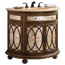 Fancy Traditional Bathroom Vanities And Sink Consoles Ambella Home Collection Tiffany Sink Chest