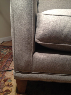 2015 New Rowe Townsend Couch And Chair. Pretty Bad.