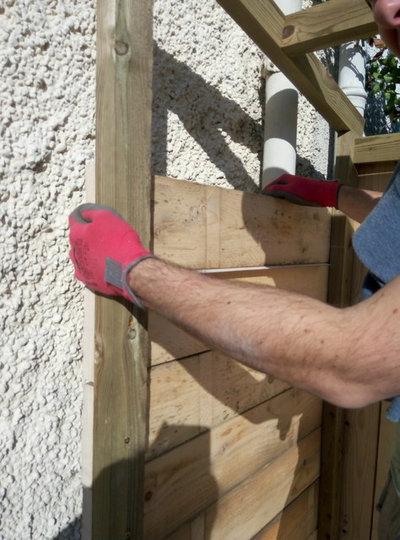 Fabriquer un abri de jardin soi-même et sur mesure pour 280 euros