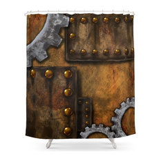 Steam And Souls Shower Curtain