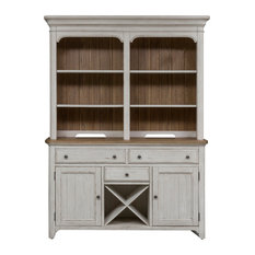 Farmhouse Reimagined Hutch and Buffet