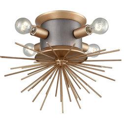 Midcentury Flush-mount Ceiling Lighting by Lighting New York