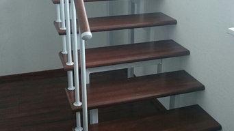 Лестница на двойном косоуре Тандем - 25